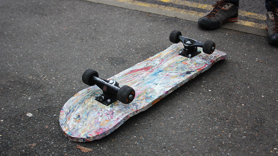 Image result for Waste boards: Skateboards