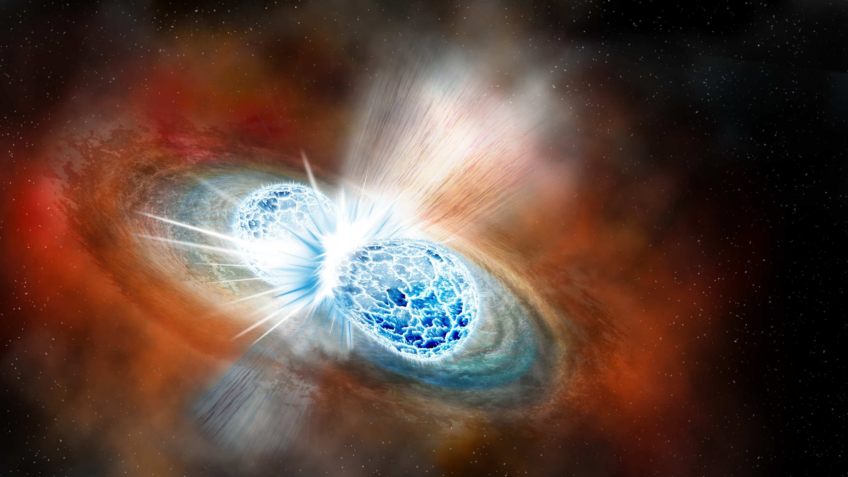 Image result for The First Neutron Star Collision We've Ever Seen