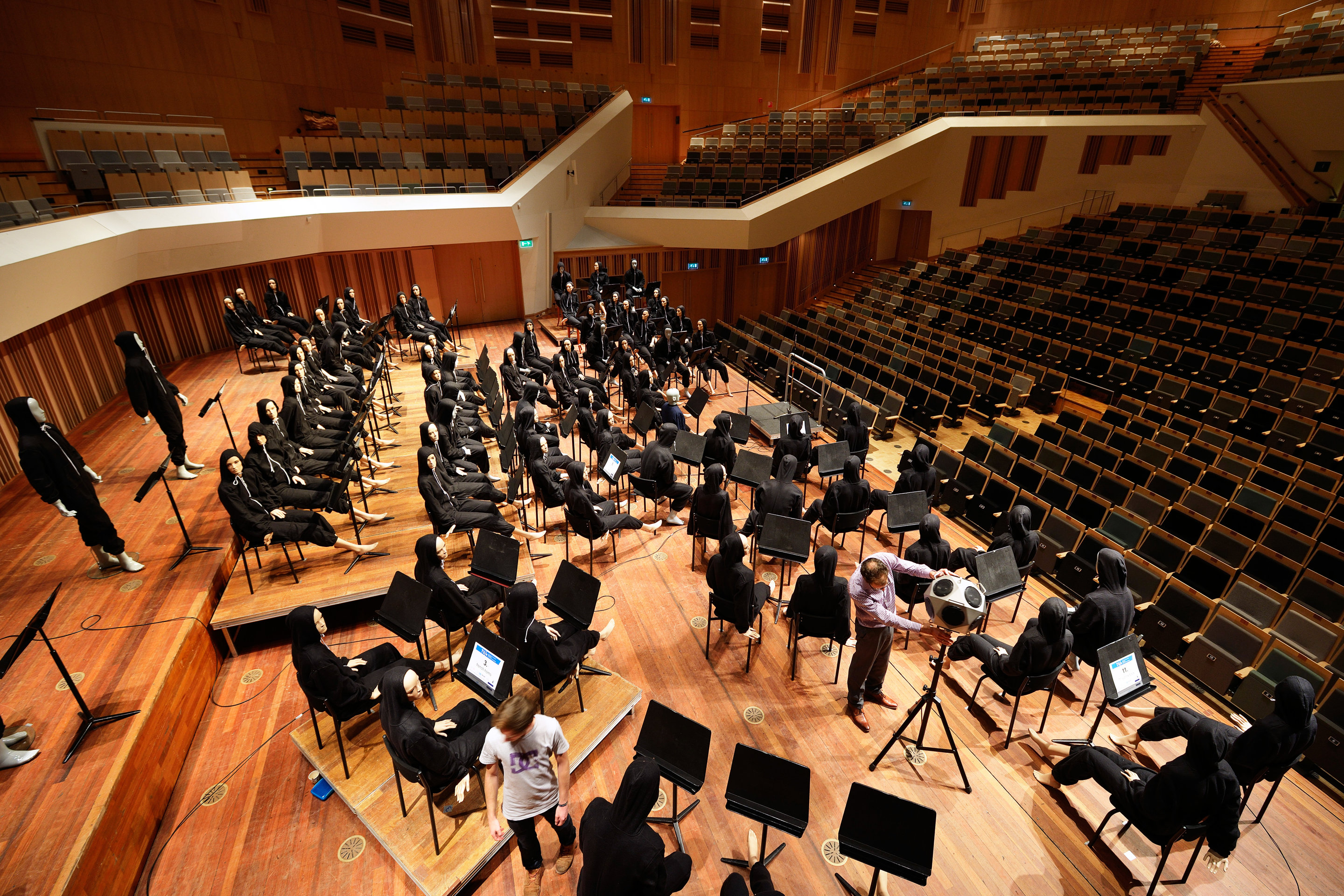 Earplugs unavoidable for musicians in the orchestra and at home