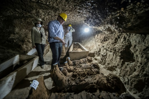 17 mummies newly discovered buried in Minya cemetery