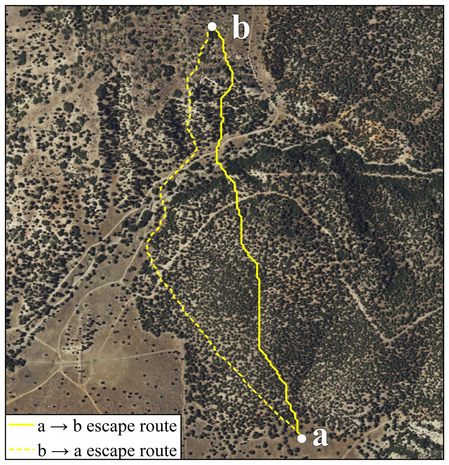 New Study The First To Map Escape Routes For Wildland Firefighters From