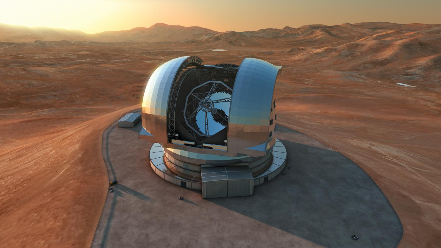 Michelle Bachelet Inaugurates Construction Of World's Largest Telescope