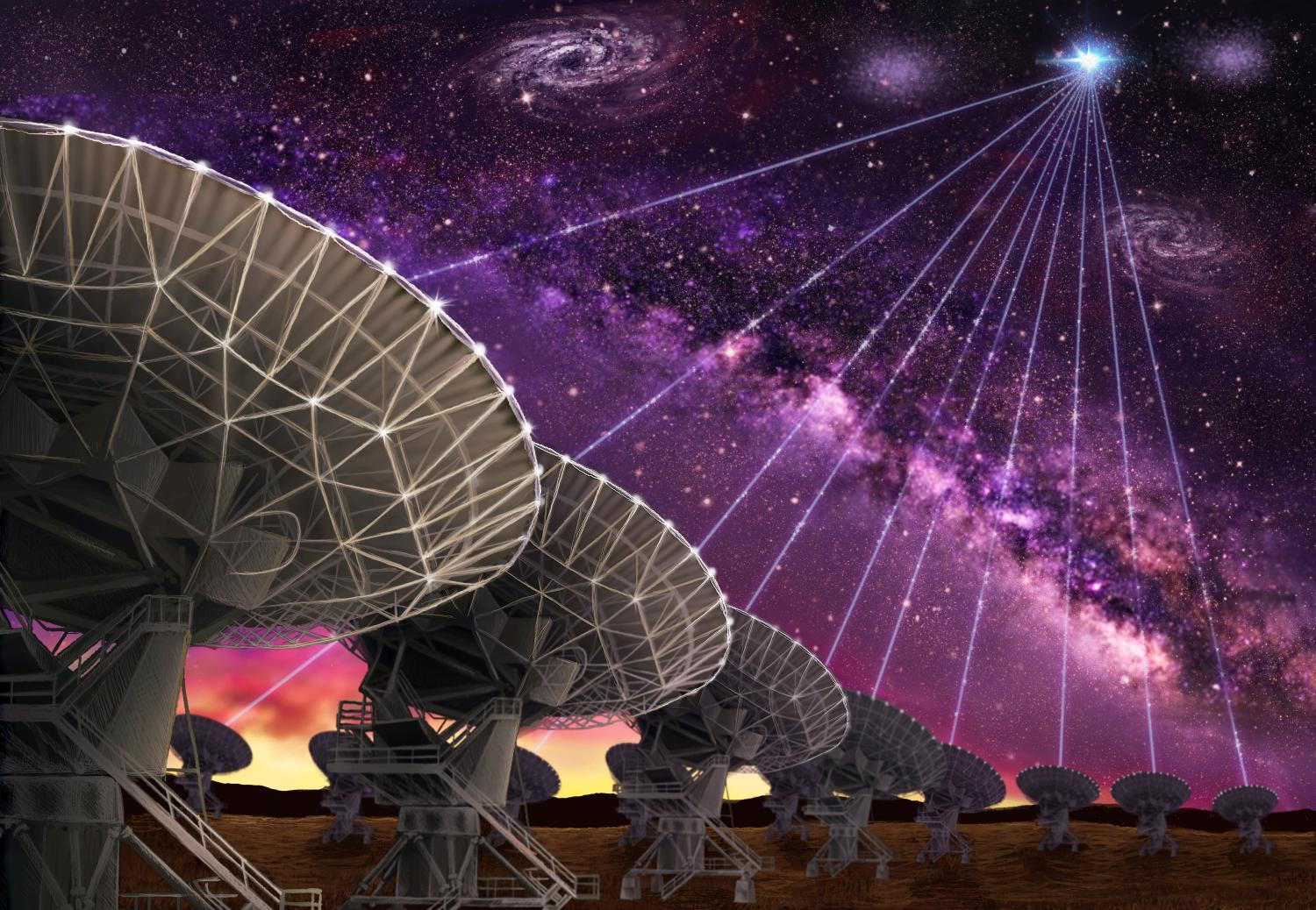 Scientists find source of mystery fast radio bursts