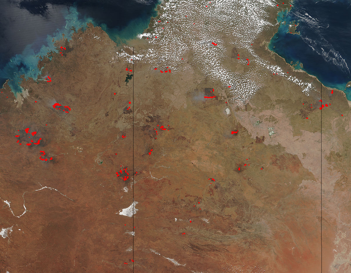 Fires in Australia pop up in places already burned