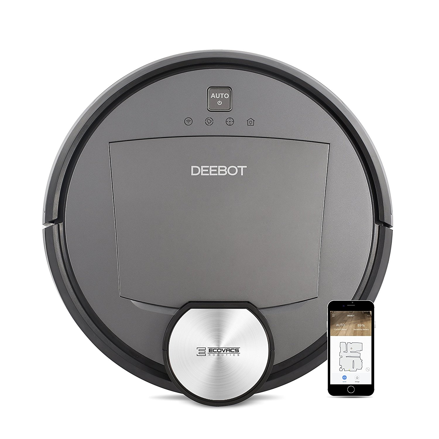 Gadgets Smart Sweeper Maps Territory To Clean