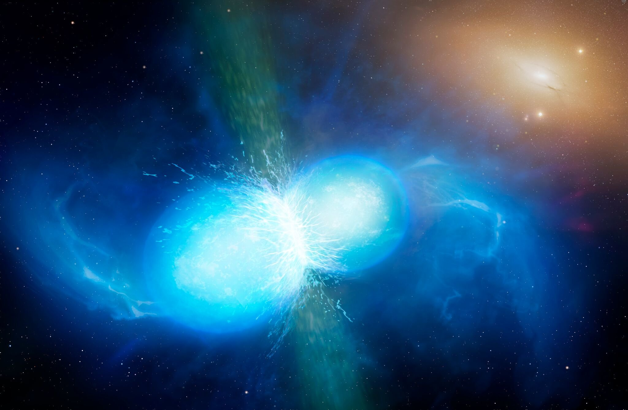Gold origin confirmed with first ever gravitational wave sighting