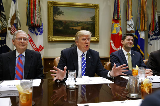 Trump Meeting With Senate GOP After Health Care Plan Collapses