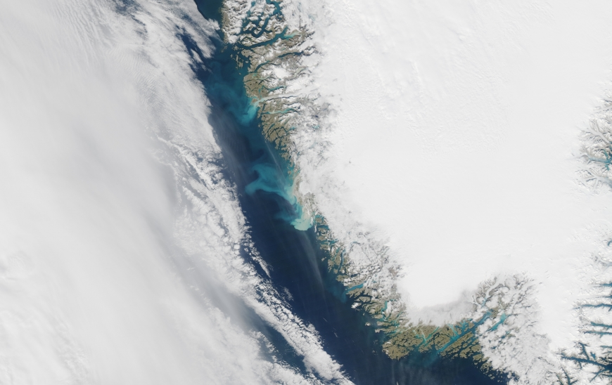 Greenland S Summer Ocean Bloom Likely Fueled By Iron