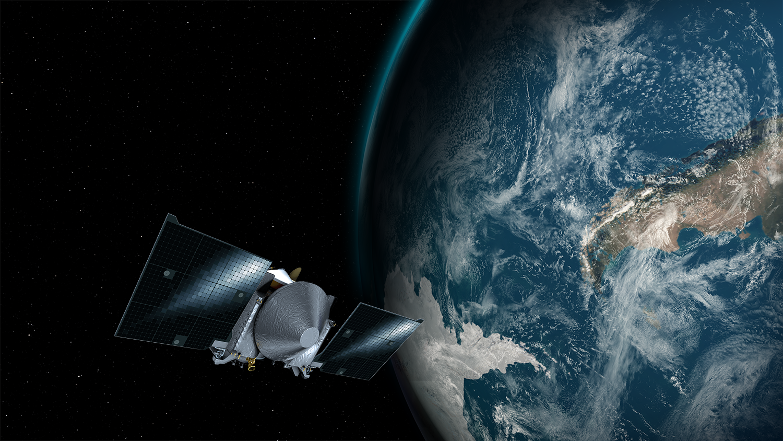 Image result for NASA's OSIRIS-REX spacecraft
