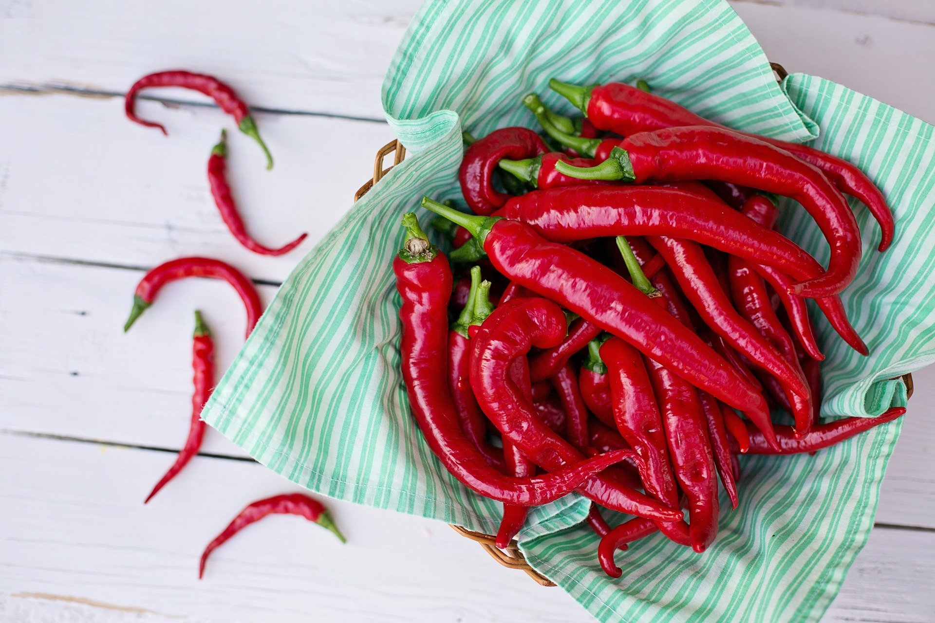 Hot Peppers May Help Your Heart