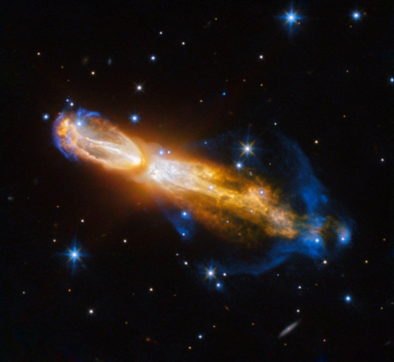 Hubble Captures Brilliant Star Death In Rotten Egg Nebula