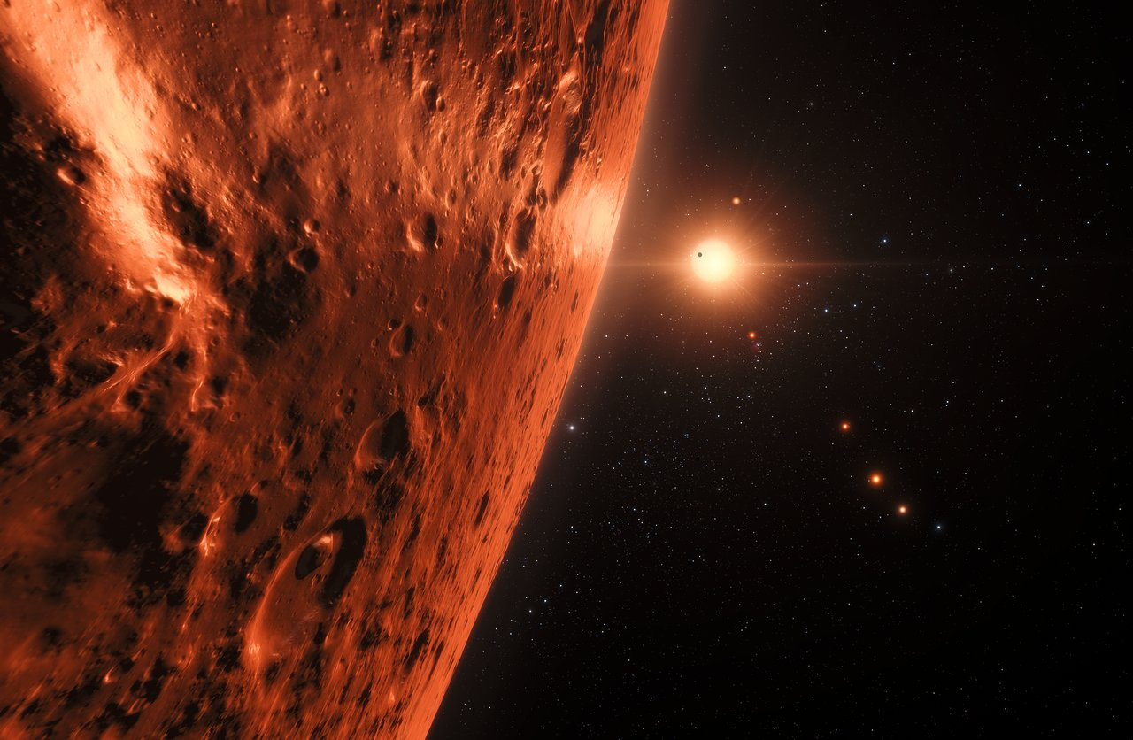 Some TRAPPIST-1 planets may have the right conditions for water