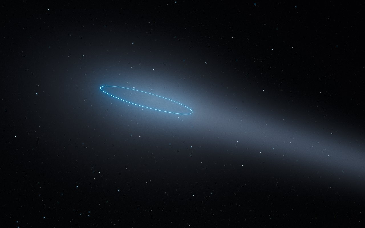 Nasa's Hubble spots unique binary asteroid with comet-like features