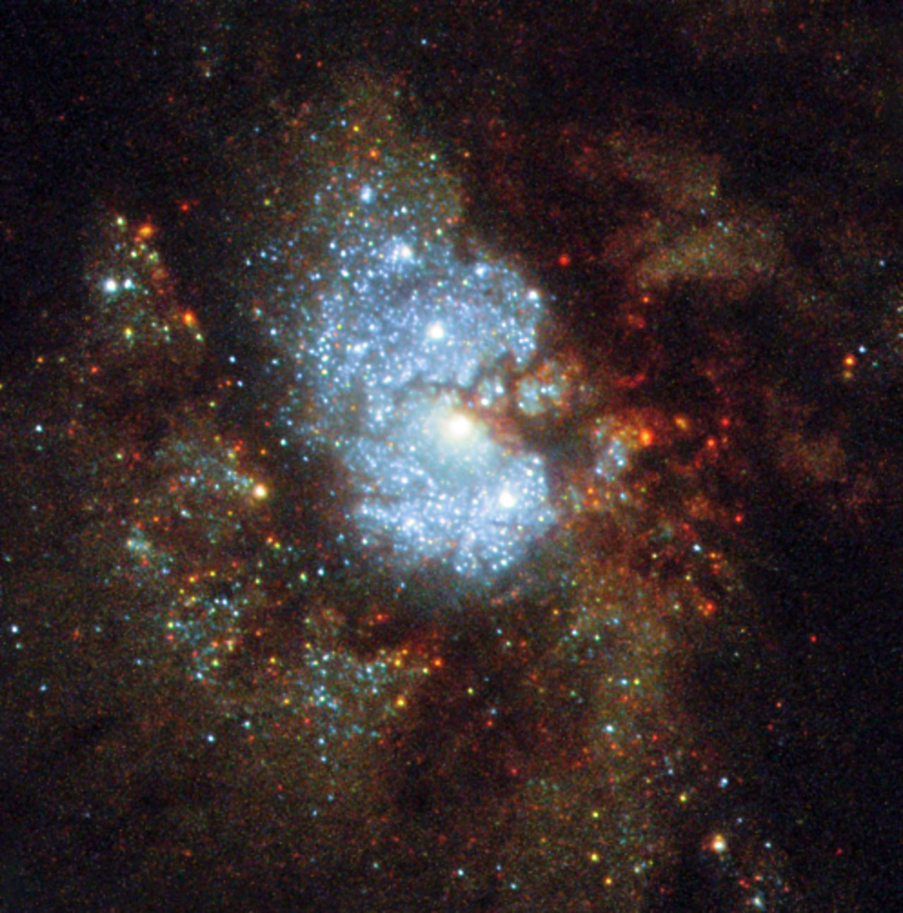 NASA's Hubble Captures Images of a Hidden Galaxy named IC 342