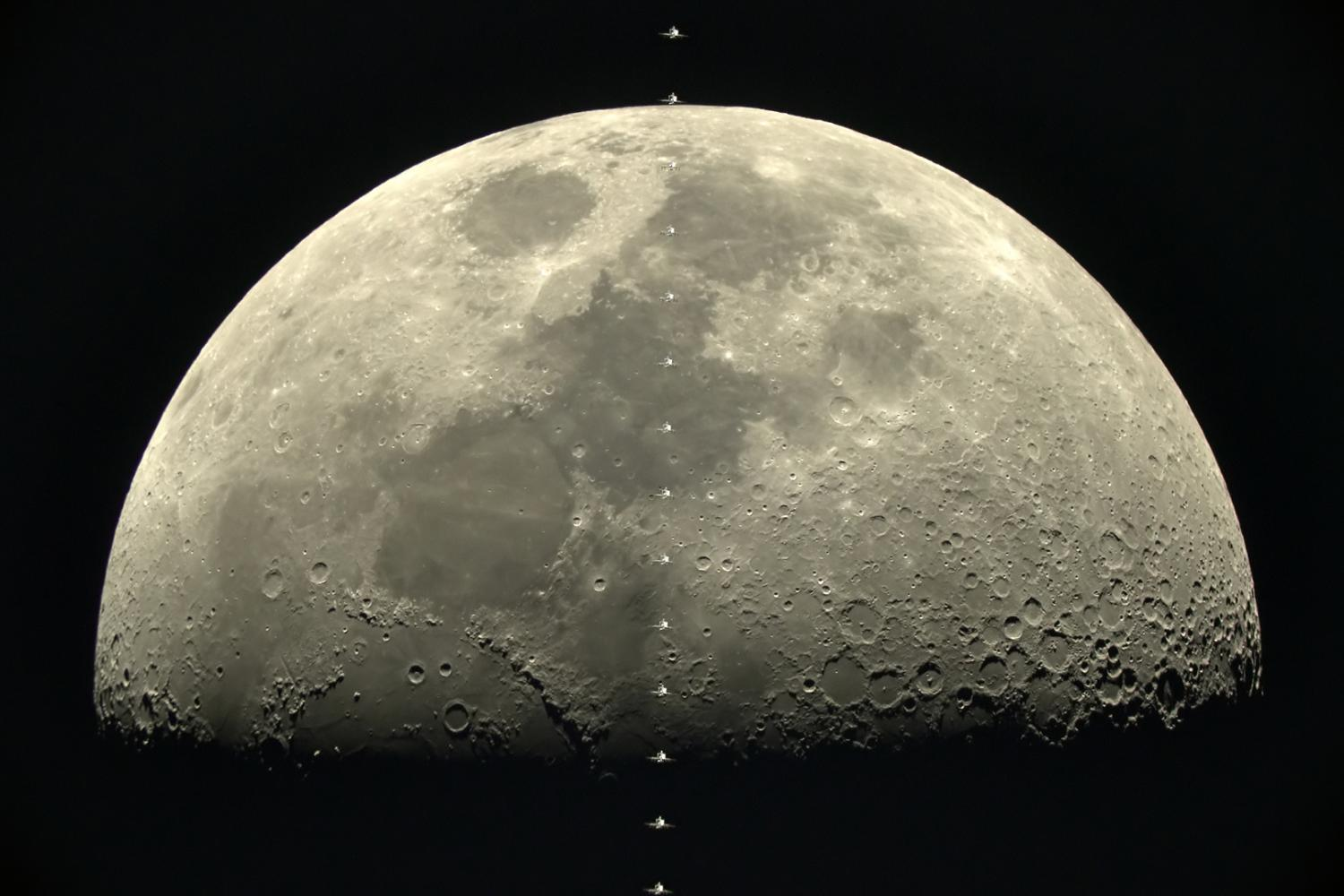 space station lunar transit - photo #11