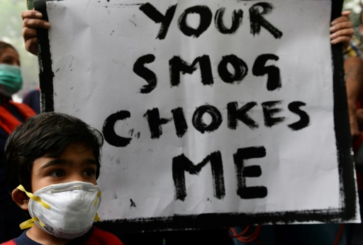Over Half of World's Pollution Deaths in China, India