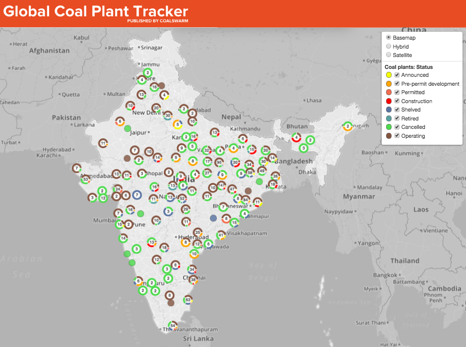 Coal World Map.India S Coal Plant Plans Conflict With Climate Commitments