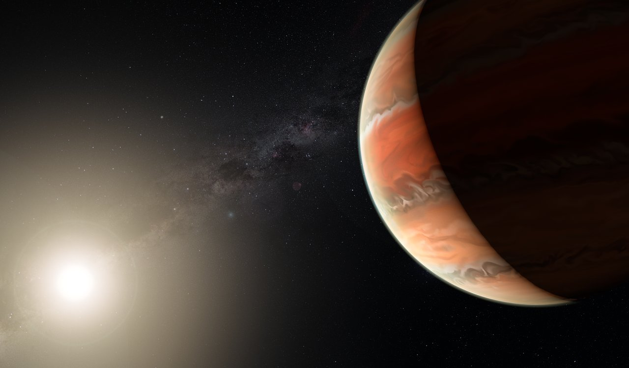 VLT makes first detection of titanium oxide in an exoplanet