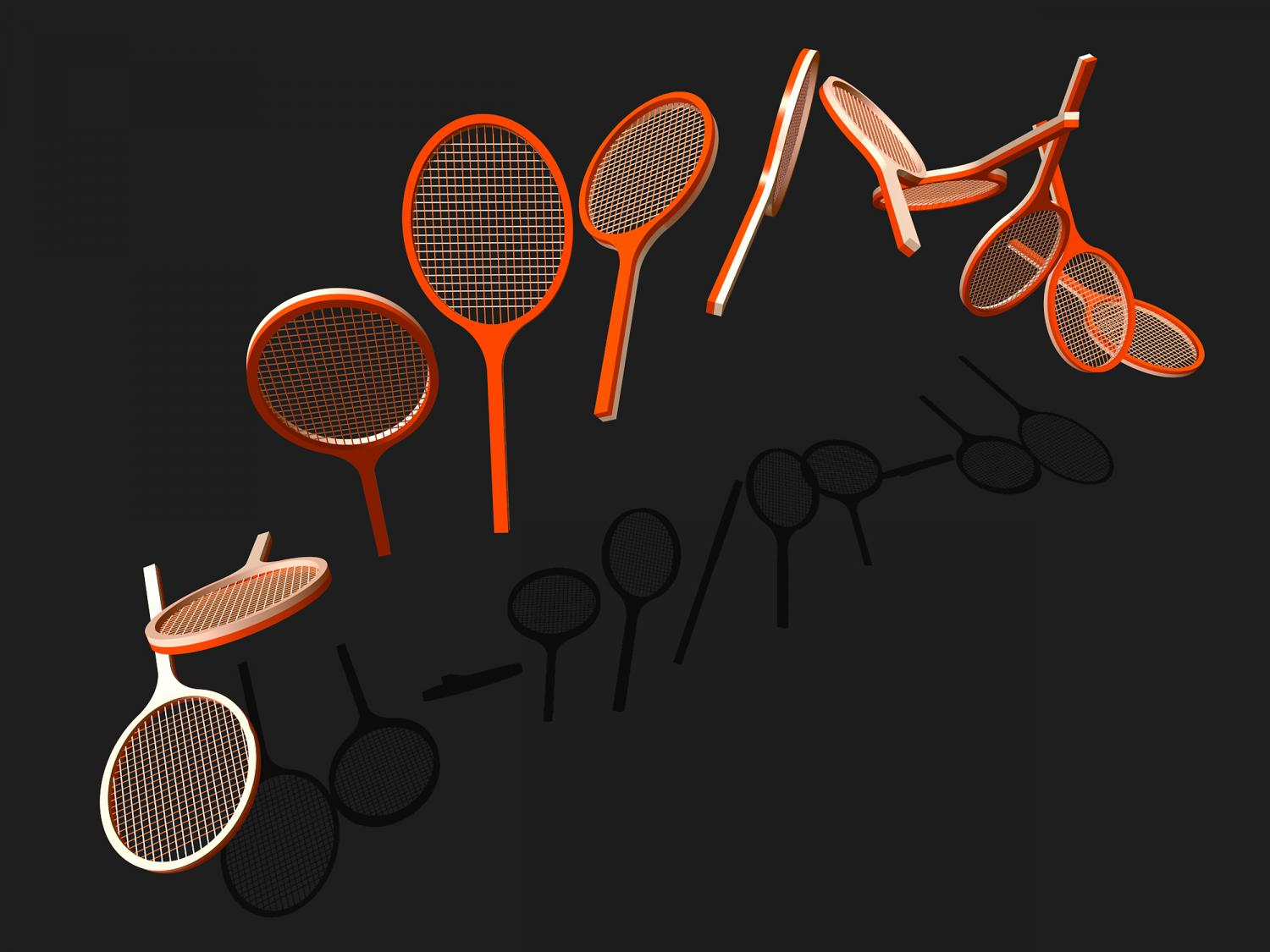 Into the quantum world with a tennis racket