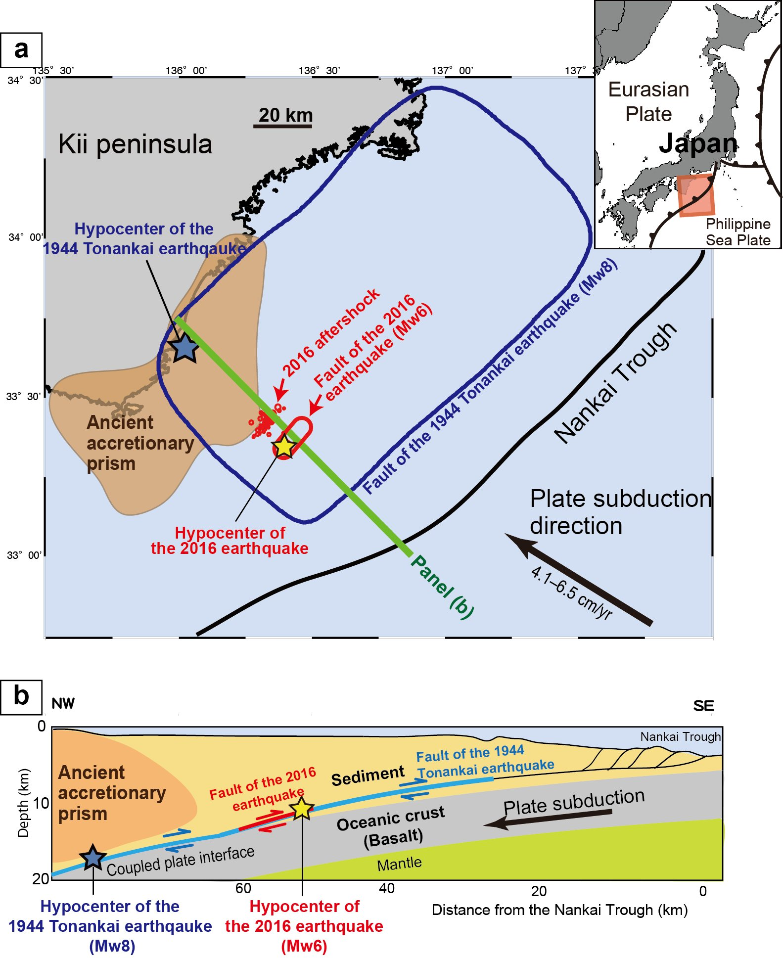 Earthquake Zone Strongly Influenced By The Effects Of Friction - Japan earthquake zone map
