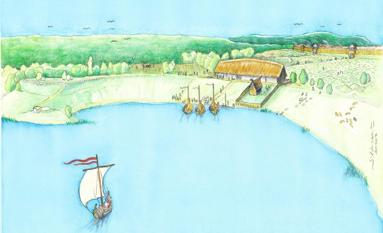 Major Viking Age manor discovered at Birka, Sweden
