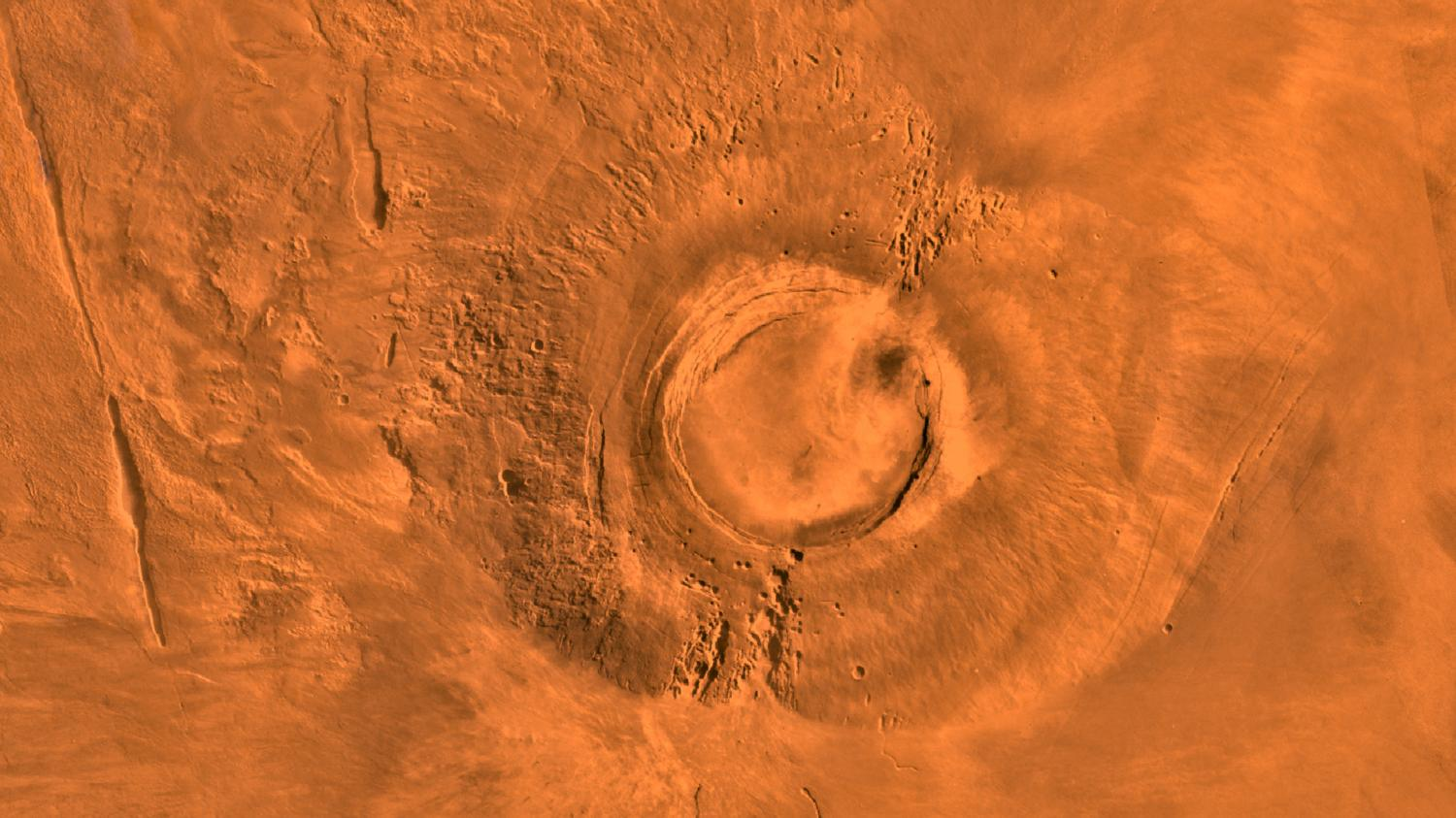 Mars Volcano And Earth's Dinosaurs Died Almost The Same Time, Research Reveals