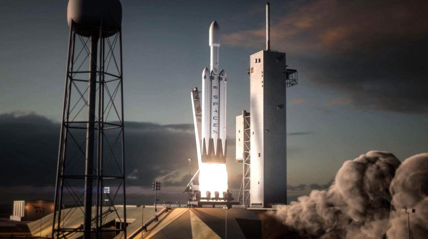 musk says maiden falcon heavy rocket to launch in november acknowledges high risk