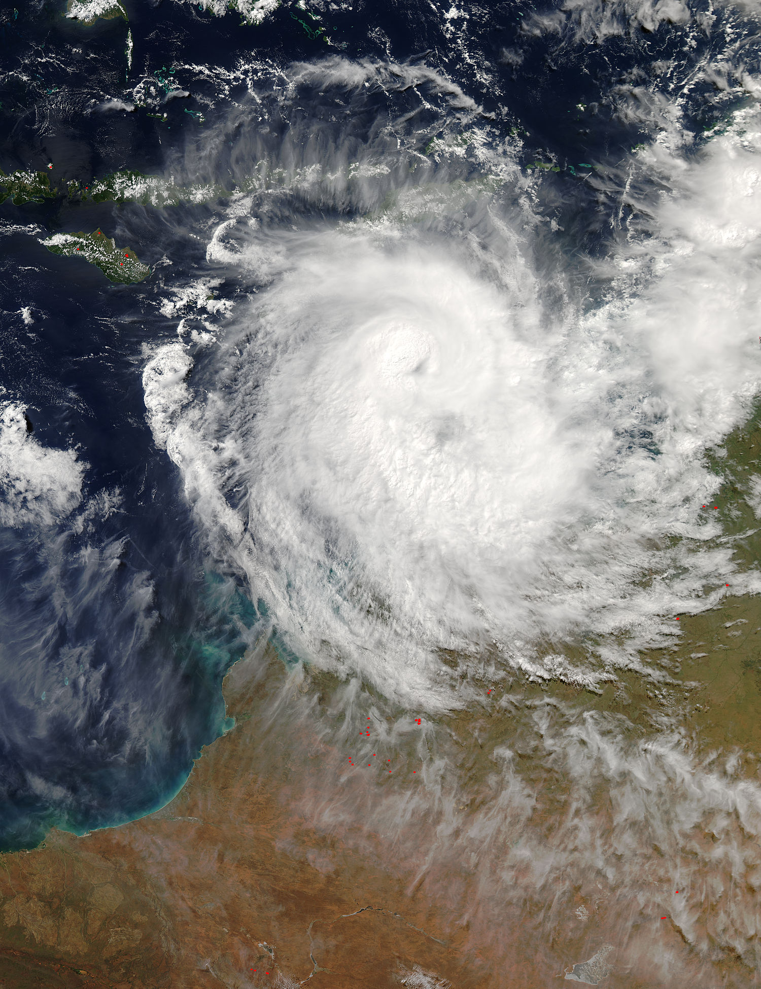 NASA eyes intensifying Tropical Cyclone Frances
