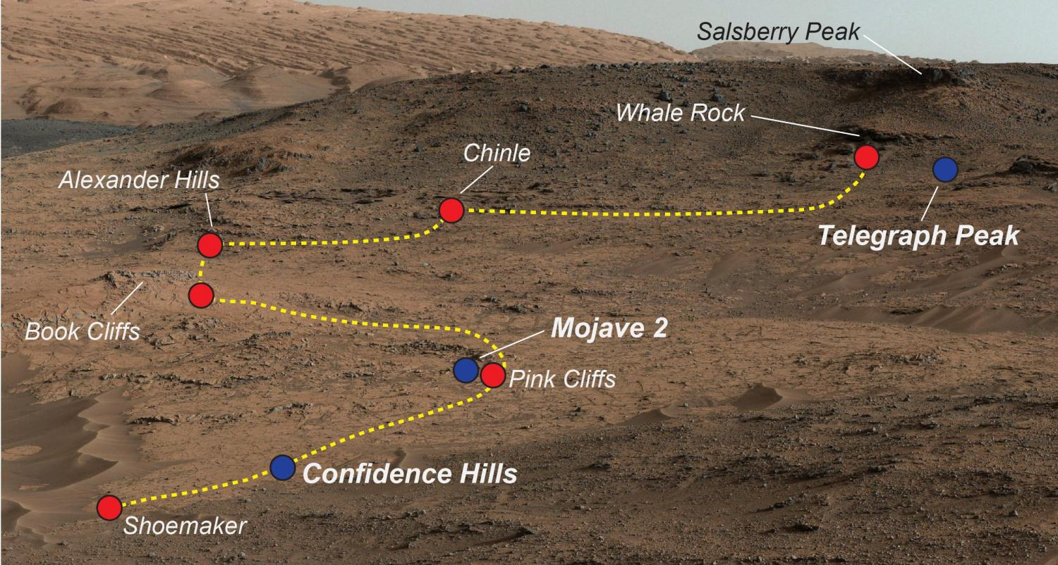 NASA finds evidence of diverse environments in curiosity ...