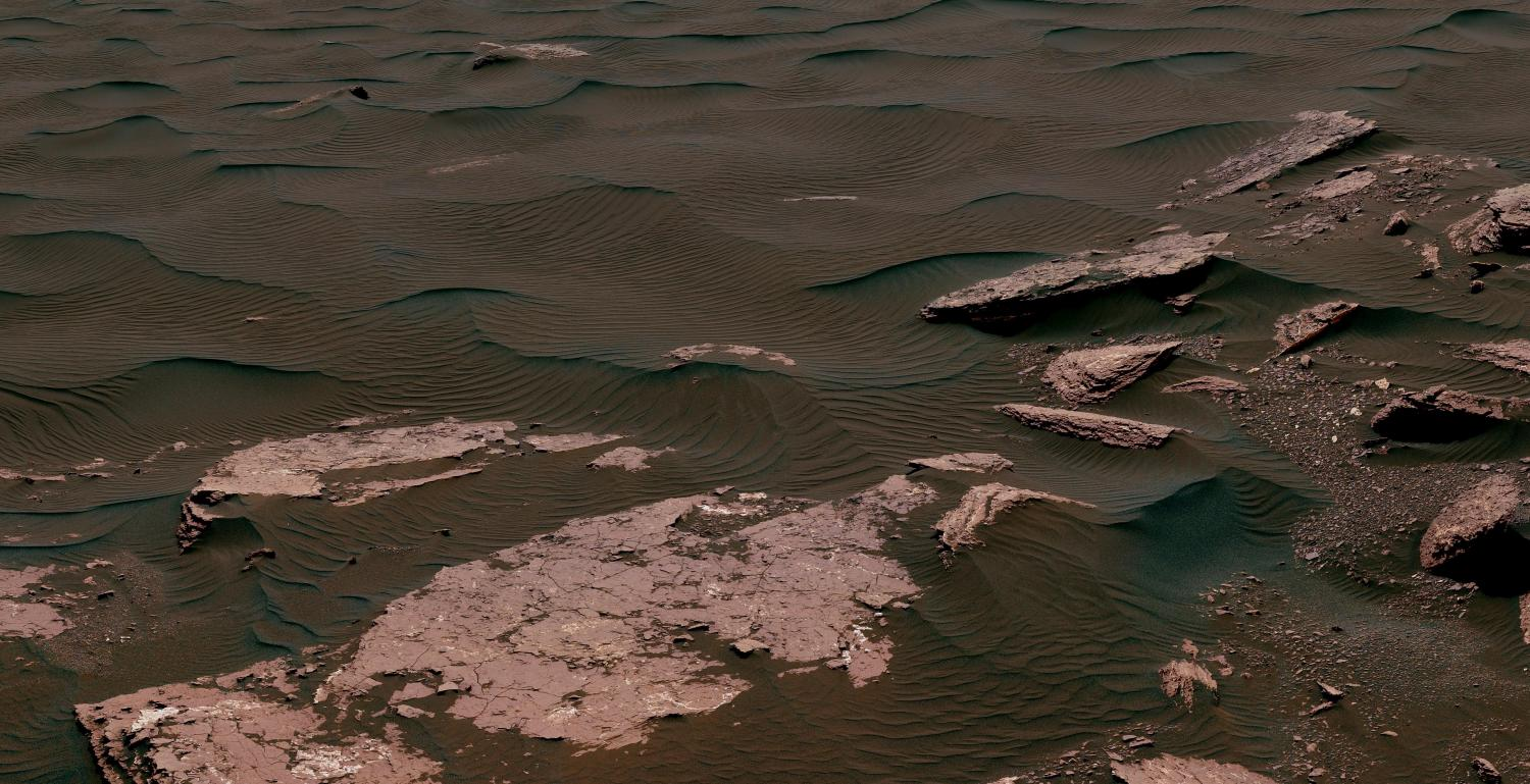 NASA 360º view from the surface of Mars