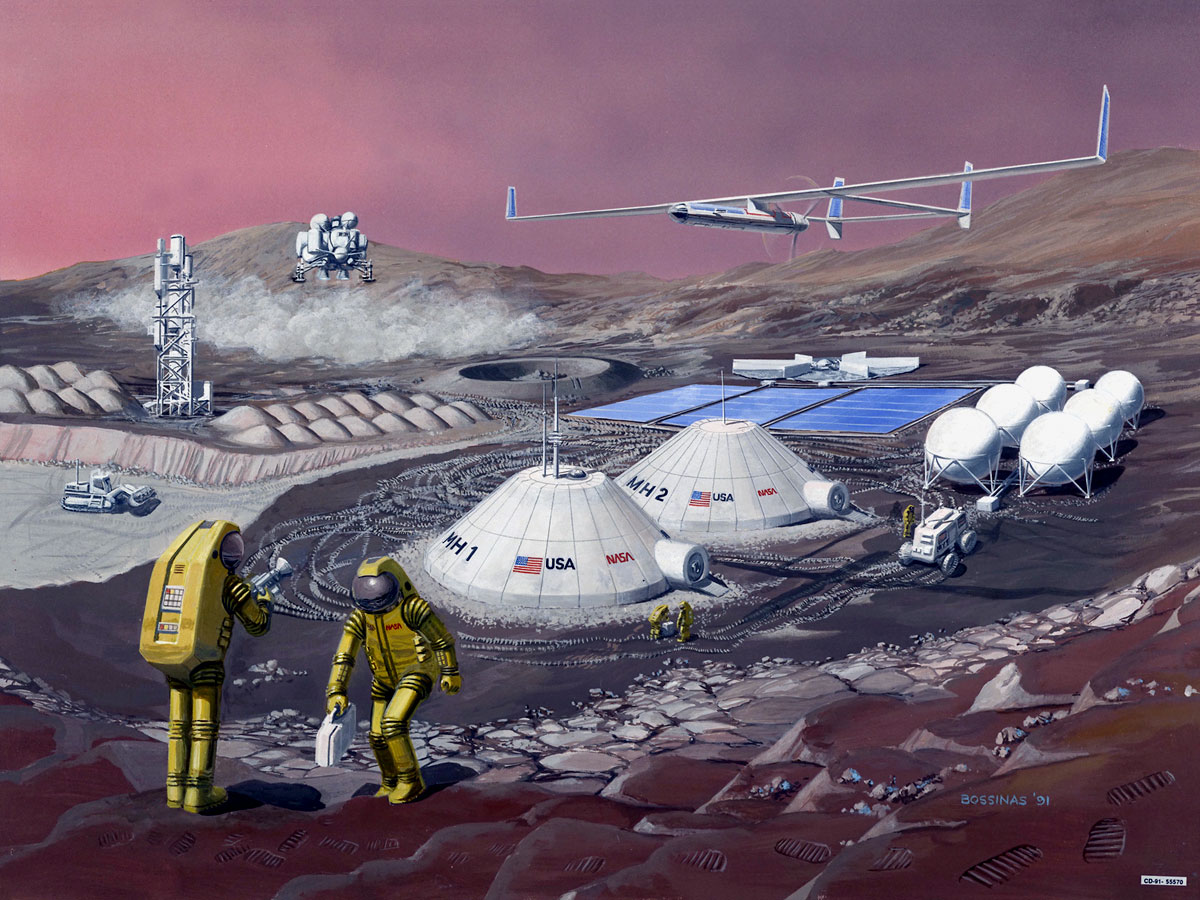 NASA selects proposals for first-ever space technology ...