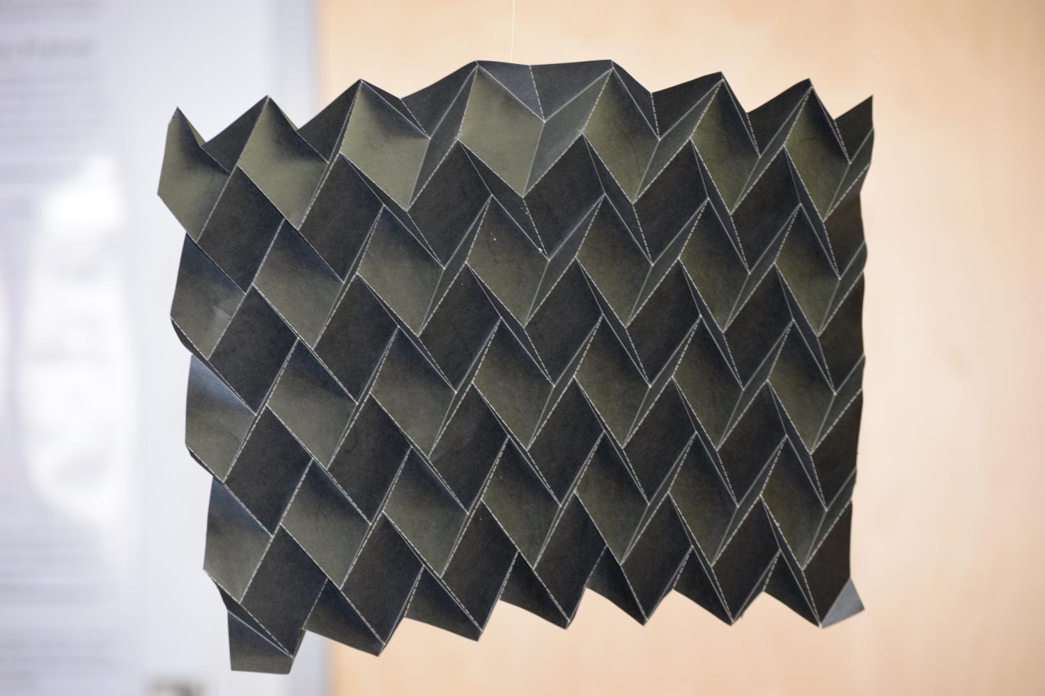Nasa S New Shape Shifting Radiator Inspired By Origami