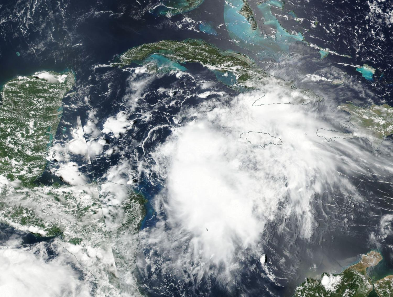 NASA tracking Tropical Storm Franklin