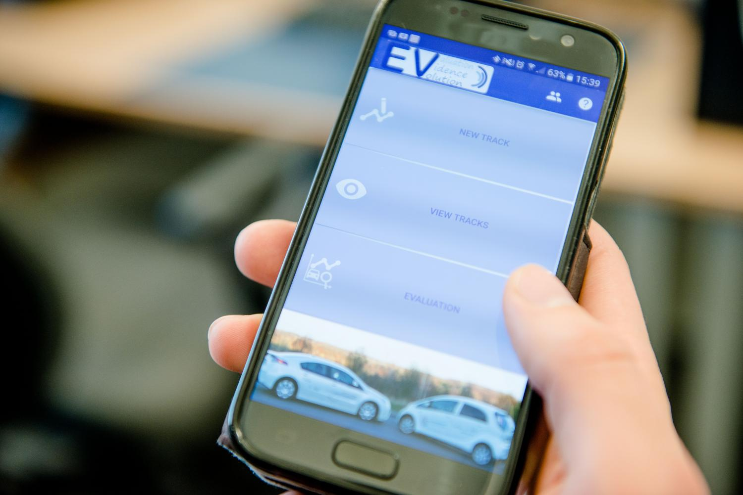 new app for matching electric cars to the driver