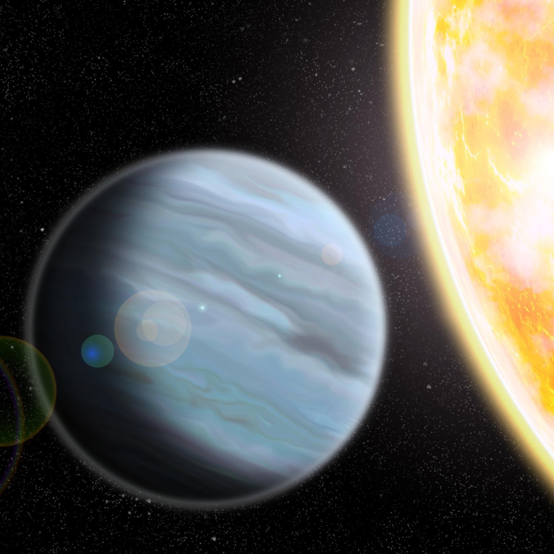 exoplanet landscape orbiting giant planet - photo #44