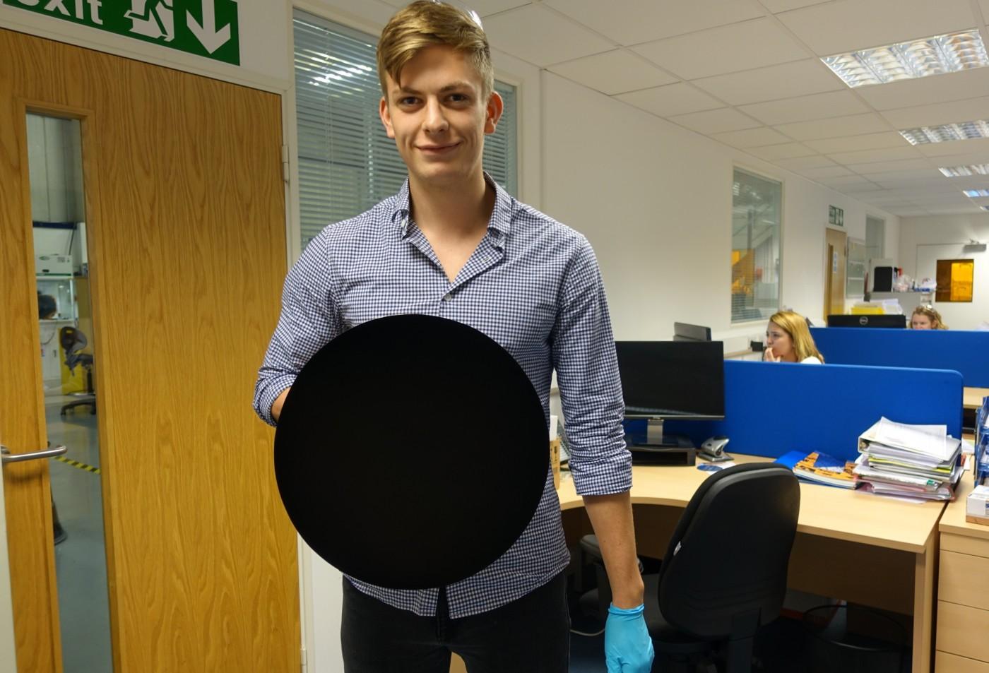 new version of vantablack coating even blacker than original