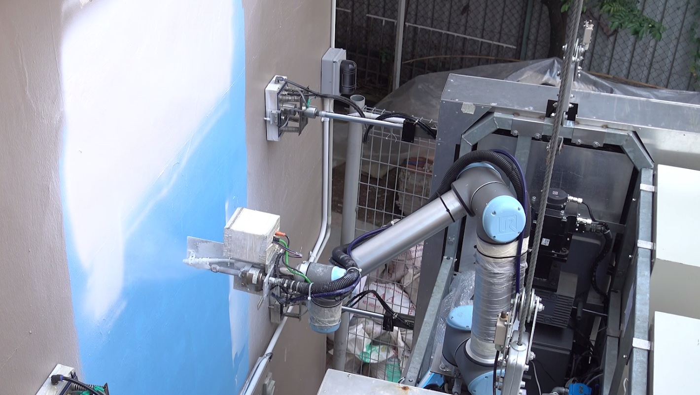 How To Run Plumbing Outobot An Innovative Robot To Wash And Paint High Rise