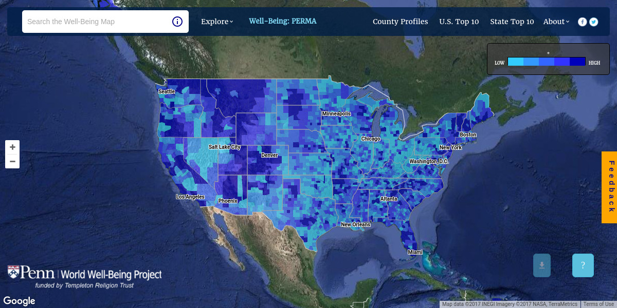Penn interactive map shows community traits built from more than 37 penn interactive map shows community traits built from more than 37 billion tweets gumiabroncs Image collections