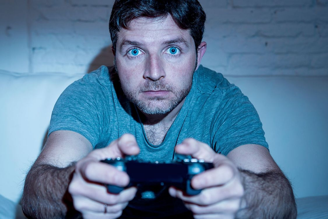 Playing Video Games Ps3