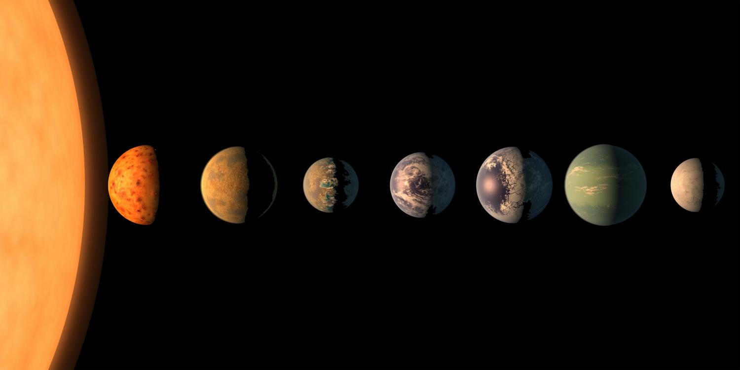 Recently discovered solar system could seed life between ...