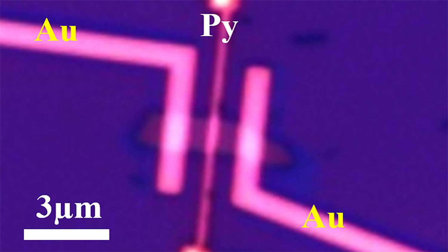 Rechargeable 'spin battery' promising for spintronics and quantum computing