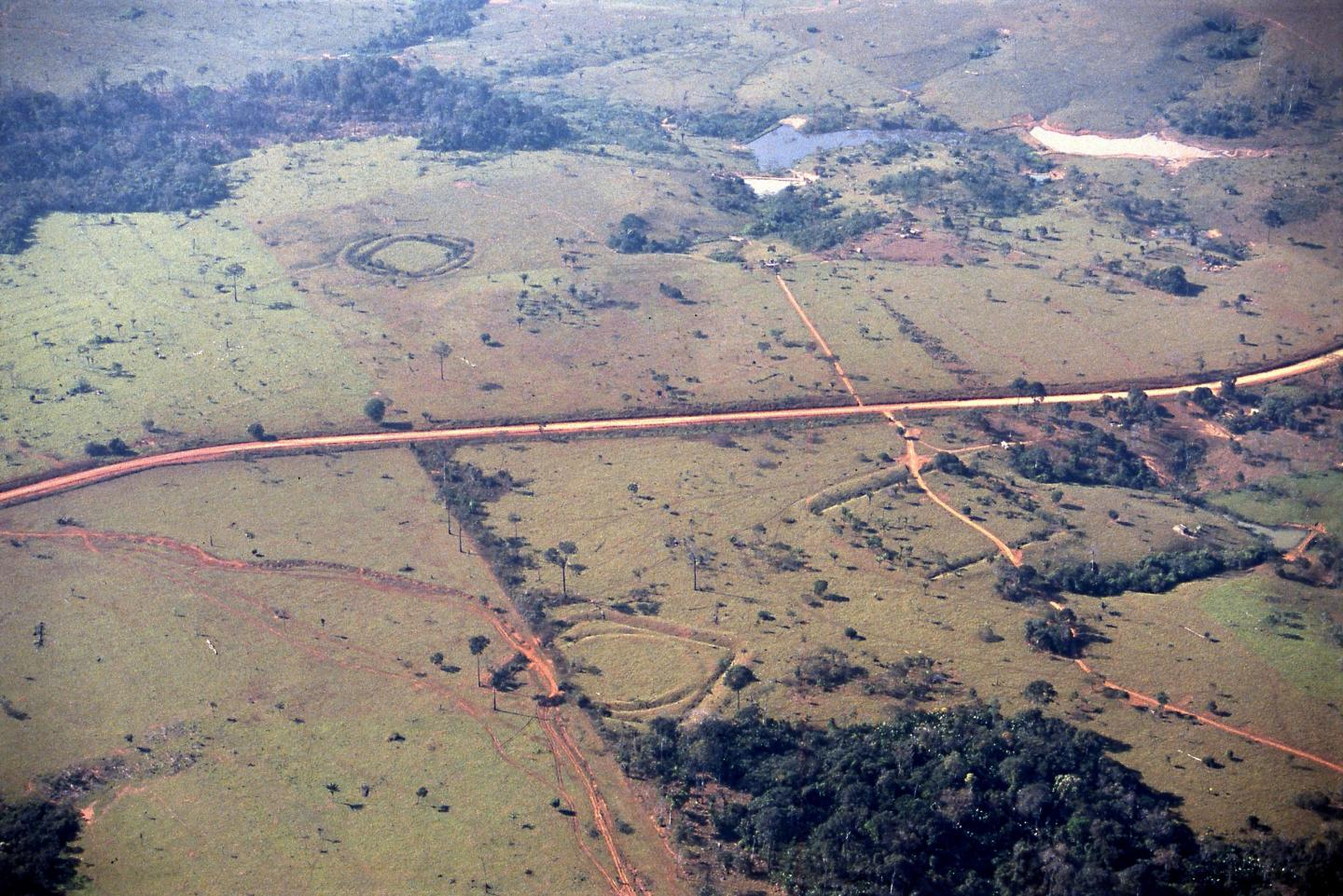 research on the meaning of ancient geometric earthworks in