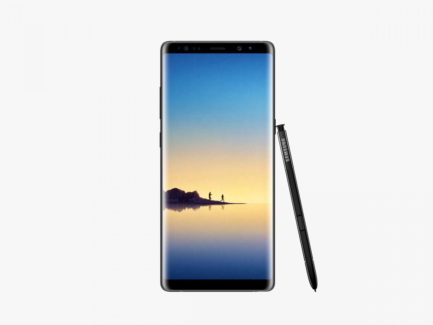 Learn everything about Samsung Galaxy Note 8 in pictures