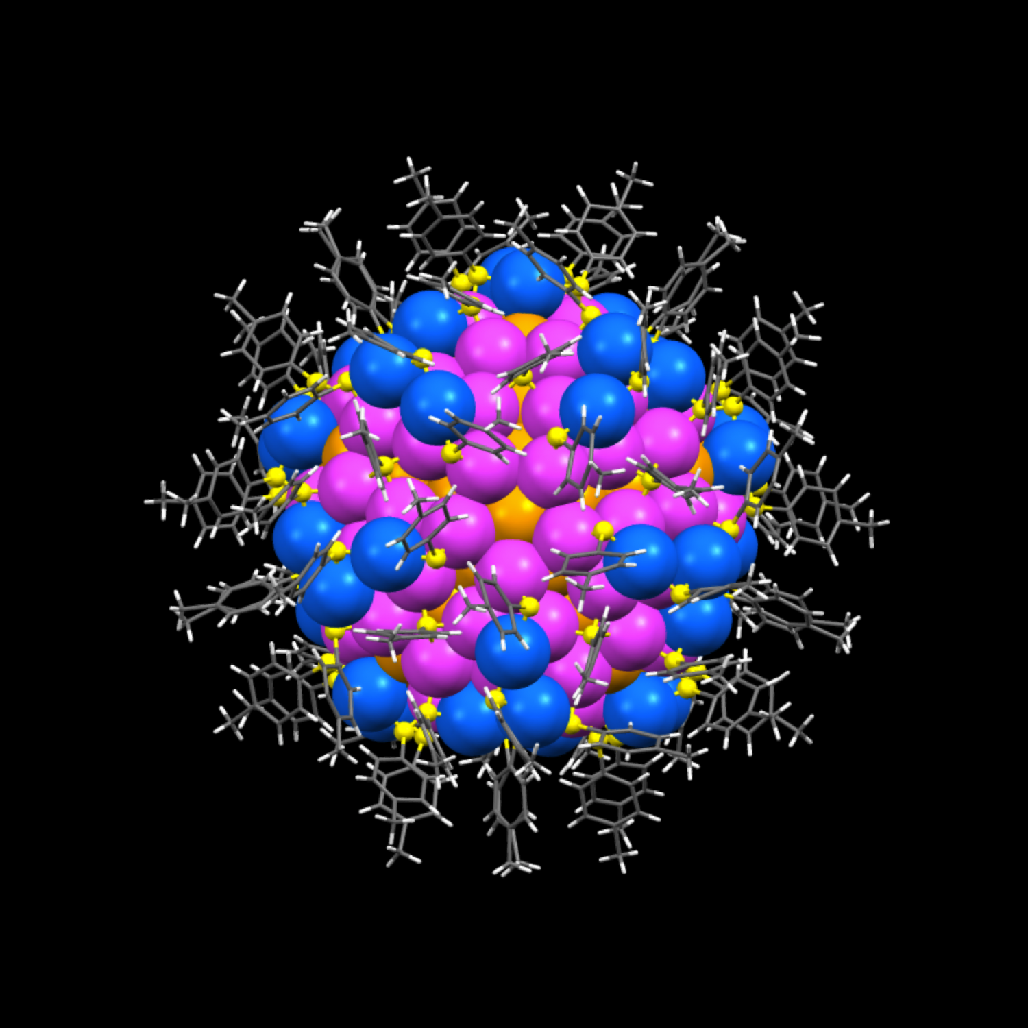 Synthetic nanoparticles achieve the complexity of protein molecules