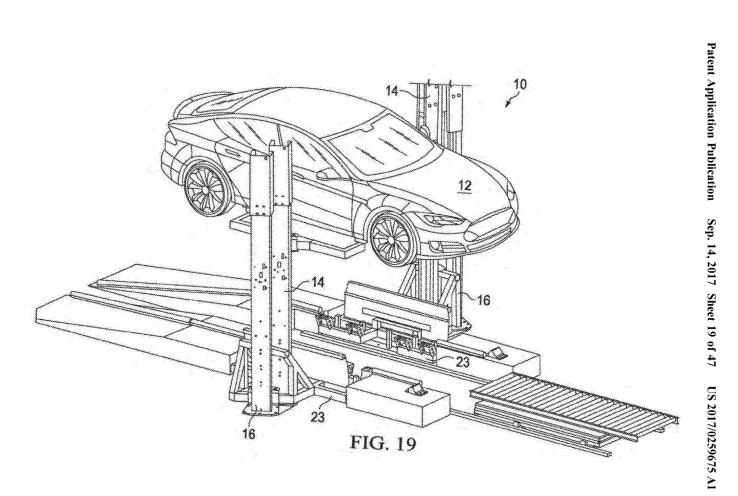 tesla patent talk  a battery