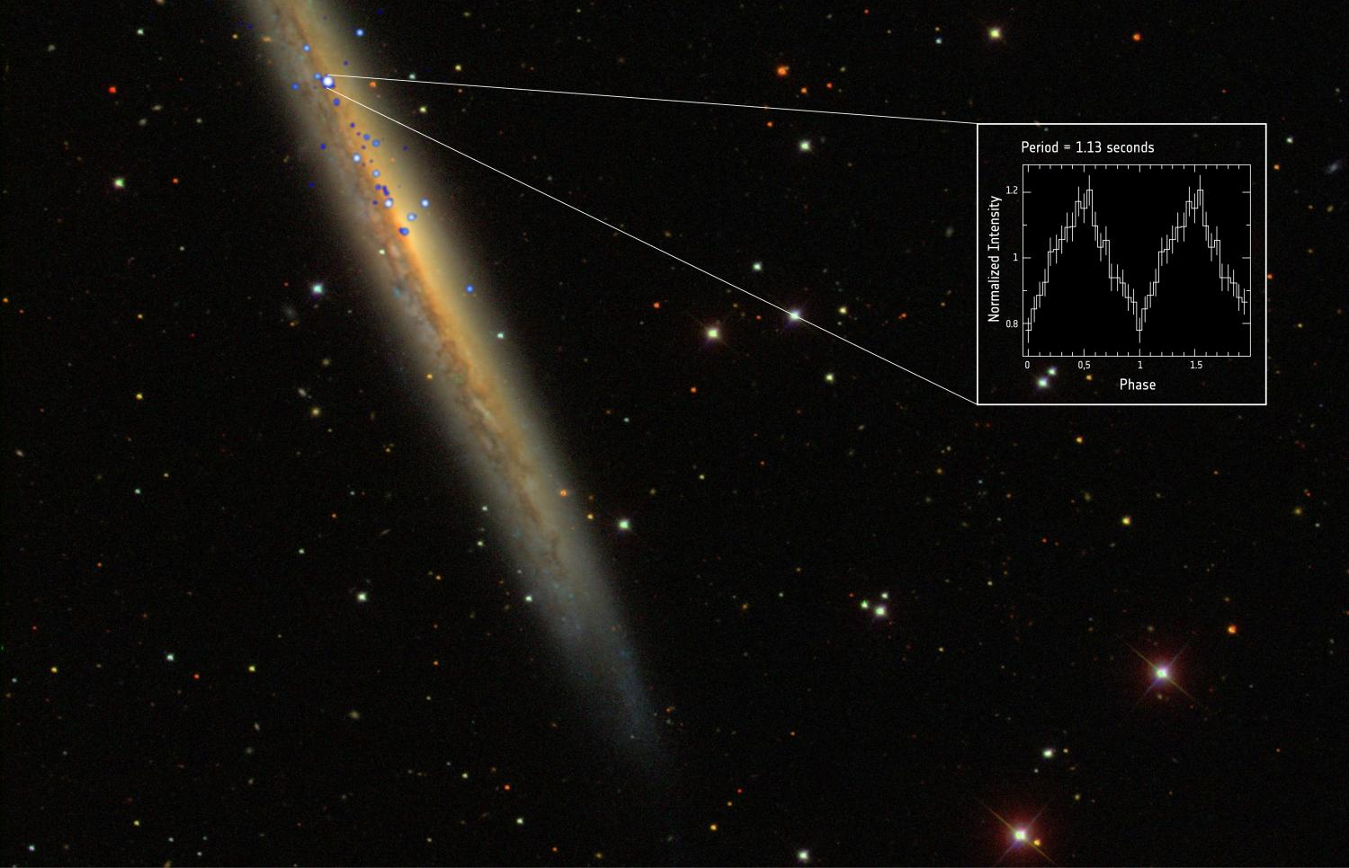 Monster pulsar discovered 50 million light years away