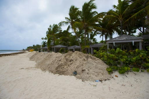 Hurricane Irma moves away from Barbuda: NHC