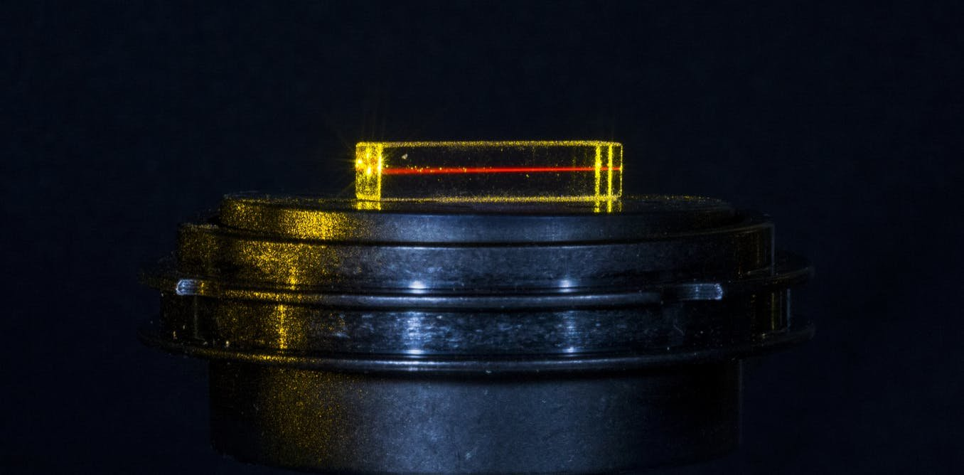 The element erbium could pave the way to a quantum internet