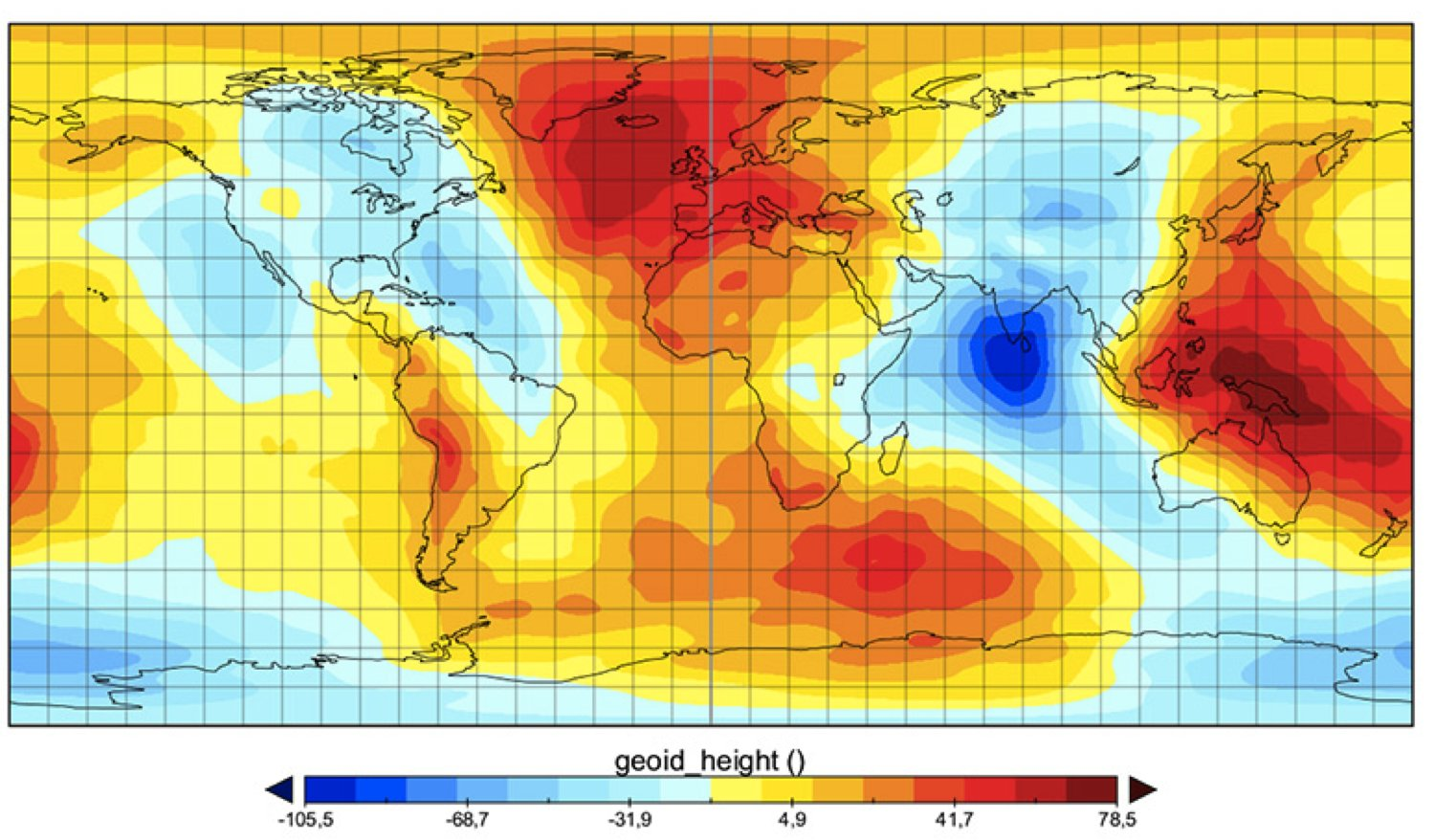 Magnetic Anomaly Map Of The World.The Missing Mass What Is Causing A Geoid Low In The Indian Ocean