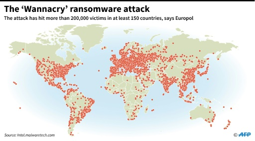 The'Wannacry ransomware attack
